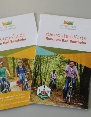 Grafschaft Bentheim Tourismus_Radwanderkarte Bad Bentheim 2