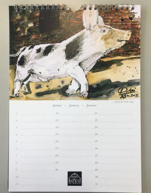 Schweine Kalender2